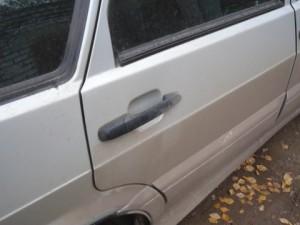 Дверь снаружи ВАЗ-2114