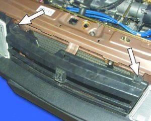 Открыть капот ВАЗ-2109