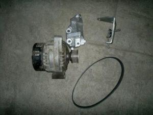 Снять генератор на ВАЗ-2114