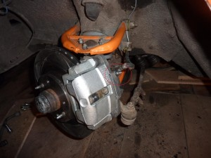Прокачать тормоза на ВАЗ-2114