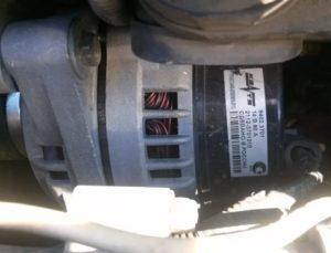 Щетки на генератор приора с кондиционером