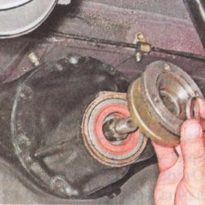 Замена подшипника полуоси ВАЗ-2107