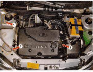 Номер двигателя на Ладе Приора