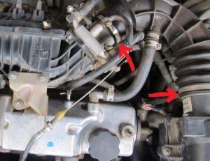 Чистка дроссельной заслонки ВАЗ-2114