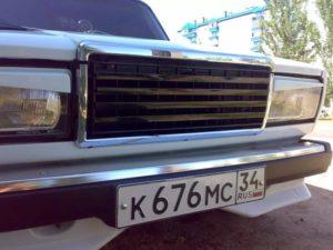 Тюнинг решетки радиатора ВАЗ-2107