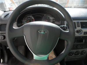 Снять руль на Ладе Приора с подушкой безопасности