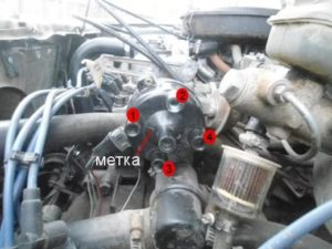 Порядок работы цилиндров ВАЗ-2109