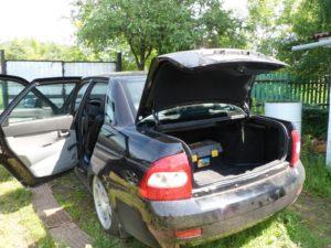 Багажник Приора седан