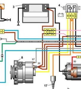 Моргает лампочка зарядки аккумулятора ВАЗ-2106
