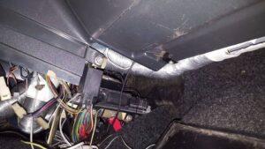 Печка не дует в ноги на ВАЗ-2112