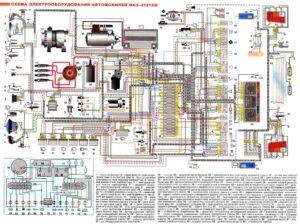 opisanie elektrosxemy niva 2121 300x224 - Схема электрооборудования ваз 2121 нива карбюратор