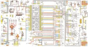 Схемы проводки ВАЗ-2105