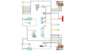 Электрическая схема ВАЗ 21214 Нива
