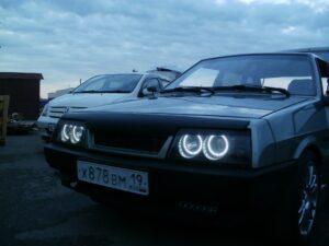 Пошаговый тюнинг фар ВАЗ-2109