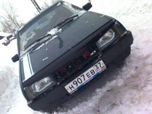 тюнинг фар ВАЗ-2109