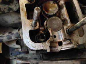 замена сальников клапанов ВАЗ-2109