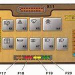 блок предохранителей ВАЗ-21099 карбюратор и его схема