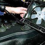 правильно снять вентилятор печки ВАЗ-2109