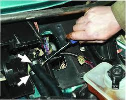 Как правильно снять радиатор печки на ВАЗ-2107