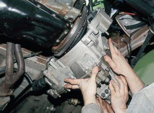 снятие коробки передач ВАЗ-2110
